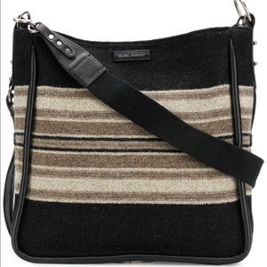 ISABEL MARANT -DOSSEH WOOL SHOULDER BAG